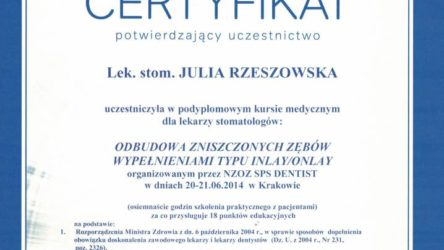 dr Julia Rzeszowska 11