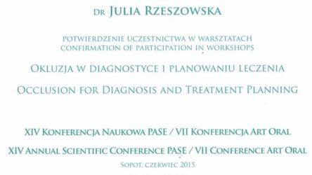 dr Julia Rzeszowska 7