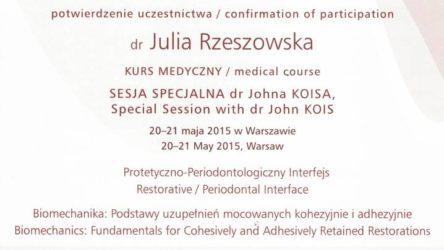 dr Julia Rzeszowska 10