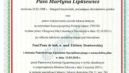 dr n. med. Martyna Lipkiewicz 3