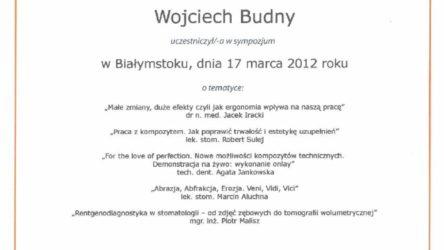 Ceryfikat Wojciech Budny2