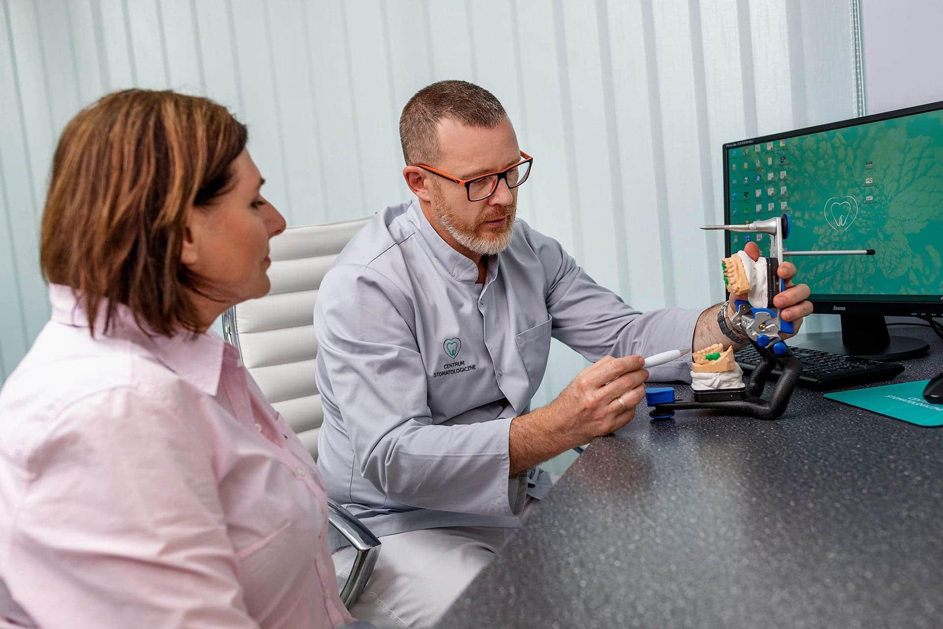 Leczenie protetyczne - dr Jadczyk