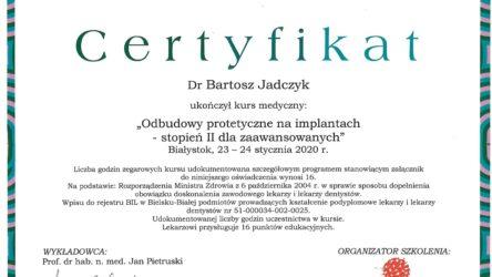 dr n. med. Bartosz Jadczyk 2